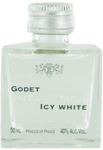 Godet Antarctica Icy White Cognac Mini