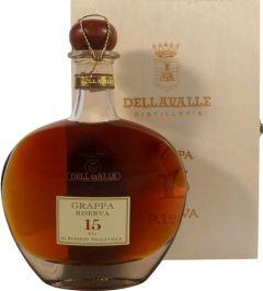 Dellavalle Grappa 15 Year Riserva