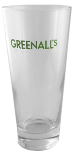 Greenall's London Dry Gin Glas