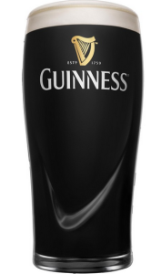 Guinness Bierglas halve pint 1/2
