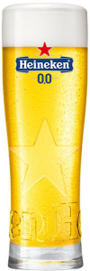 Heineken 0.0 Star Glas Embossed