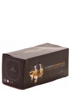 Het Perfecte Whisky Glas Duo Box