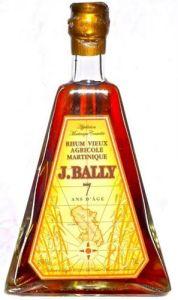 J. Bally Rhum Vieux Agricole Martinique 7 Years