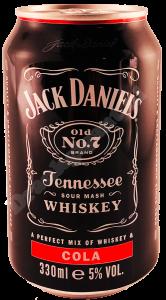 Jack Daniels No.7 Cola Blik