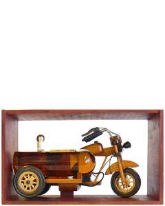 Jack Harley Zijspan met Blended Whisky