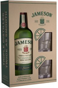 Jameson Giftpack + Glazen
