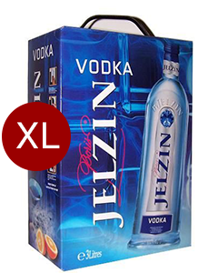 Boris Jelzin Vodka Box