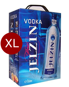Boris Jelzin Vodka 3 Liter Box