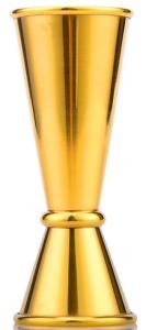 Jigger Viking Gold Plated 30/60 ml