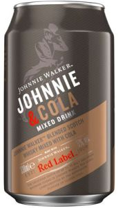 Johnnie Walker & Cola Blik