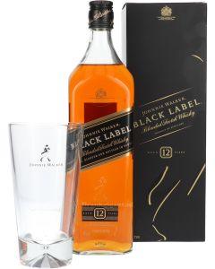 Johnnie Walker Black Label + Gratis Longdrinkglas