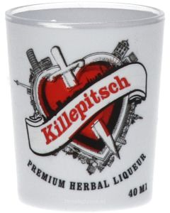 Killepitsch Borrel Shotglas Plastic