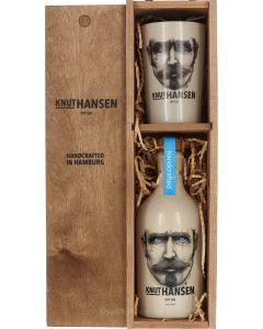 Knut Hansen Dry Gin + glas