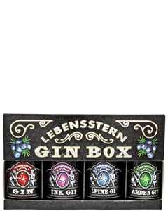 Lebensstern Gin Box 4x5cl