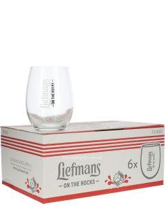 Liefmans fruitbierglas on the rocks (Doos 6 Stuks)