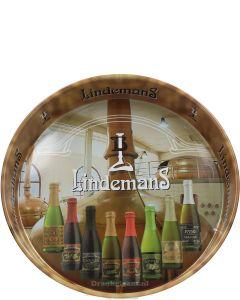 Lindemans Dienblad Beige met Flessen