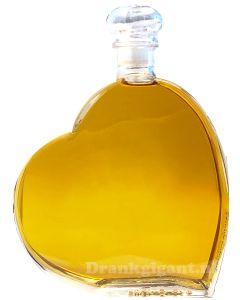 Luxe Hart Caribbean Rum Bruin