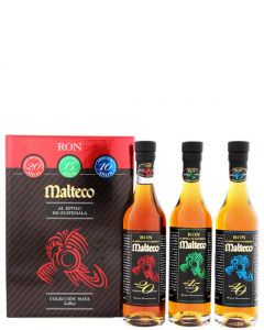 Malteco Rum Collection Maya 3x20cl