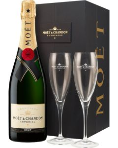 Moet & Chandon Imperial Brut + 2 Flutes