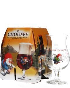 Mc Chouffe 4-Pack + Gratis Glas