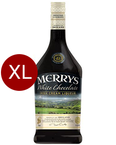 Merrys White Chocolate Cream Liquer Magnum