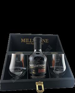 Zuidam Millstone Oloroso Sherry Giftbox + 2 Glazen
