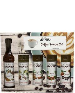Monin Coffee Siropen Set