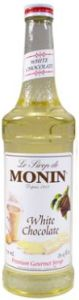 Monin White Chocolate Siroop Klein