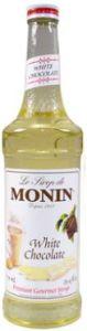 Monin White Chocolate Siroop Klein