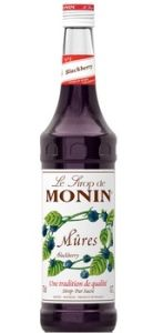 Monin Blackberry Mures Siroop