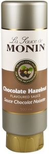 Monin Hazelnoot Chocolade Topping