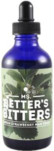 Ms. Better's Bitters Green Strawberry Mah Kwan
