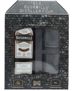 Bushmills Giftpack + Glazen