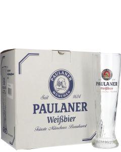 Paulaner Hefe Bierglas 50 cl (Doos 6 Stuks)