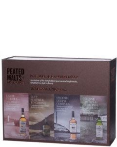 Peated Malts of Distinction GiftBox 4x5cl