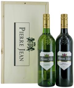 Pierre Jean Colombard Chardonnay & Merlot Cabernet Sauvignon Wijnkist