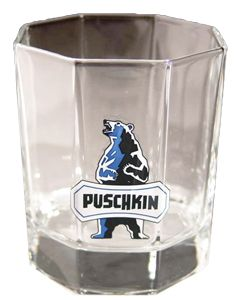 Puschkin Vodka Glas