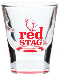 Jim Beam Red Stag Shotglas