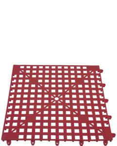 The Bars Glasmat Red