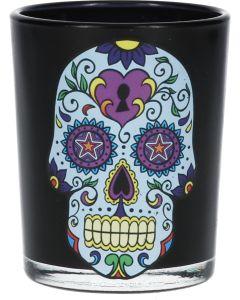 Shotglas Blue Skull