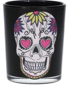 Shotglas Pink Skull