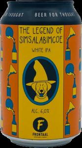 Brouwerij Frontaal The Legend of Simsalabimcoe White IPA
