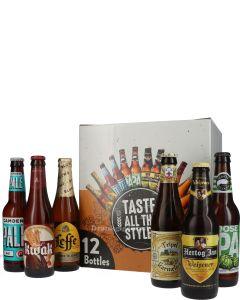 Taste All The Styles Bierbox 12 Flessen