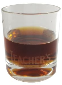 Teacher's Whiskyglas