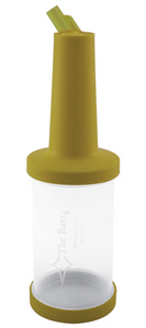 The Bars Save & Pour Cocktail Bottle Yellow