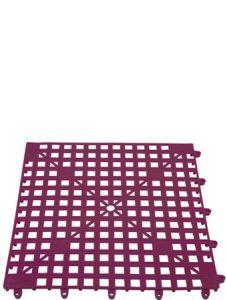 The Bars Glasmat Purple