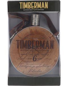 Timberman 6 Years Blended Malt Veldfles