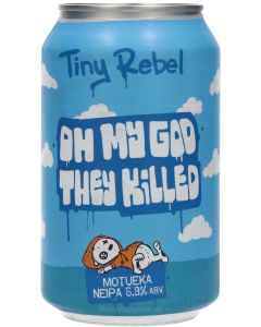 Tiny Rebel Oh My God They Killed Motueka Neipa