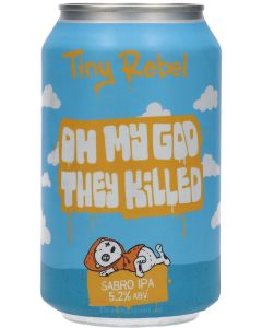 Tiny Rebel Oh My God They Killed Sabro IPA