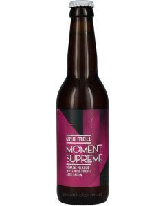 Van Moll Moment Supreme White Wine Barrel Aged Saison